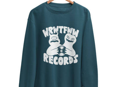 WRWTFWW Records Sweatshirt // Various Colors main photo