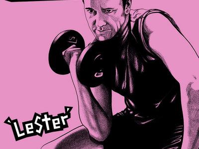 "Born Shit Stirrers - Lester 12"" vinyl LP main photo"
