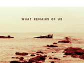 Alternative versions of What Remains Of Us cover art photo