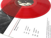 Mirrored [zakè & Slow Dancing Society] – Limited Edition LP (Transparent Red) photo