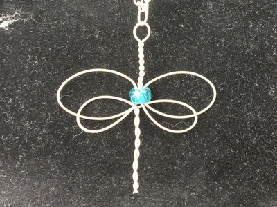 """Blue Dragonfly"" Celtic Heartstring main photo"