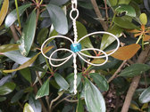 """Blue Dragonfly"" Celtic Heartstring photo"