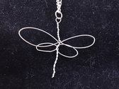 """Silver Dragonfly"" Celtic Heartstring photo"