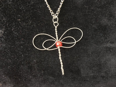 """Red Dragonfly"" Celtic Heartstring main photo"