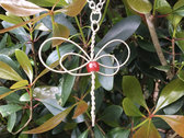 """Red Dragonfly"" Celtic Heartstring photo"
