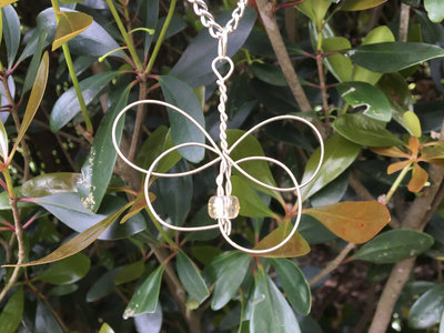 """""""White Butterfly"""" Celtic Heartstring ON SALE main photo"""