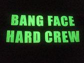 Neon (Electric) Hoodie - Glow in the dark print - BANG FACE HARD CREW photo