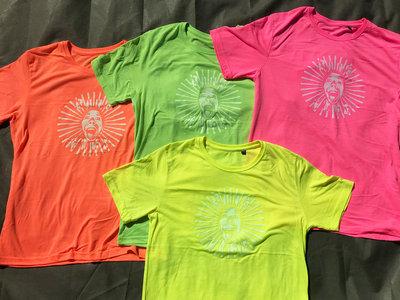 Electric T-Shirt - Glow in the dark print - BANG FACE HARD CREW main photo