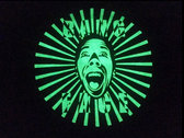 Electric T-Shirt - Glow in the dark print - BANG FACE HARD CREW photo
