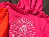 Neon (Electric) Hoodie - White Print - Various Classic Slogans photo