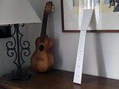 Paper guitar neck photo