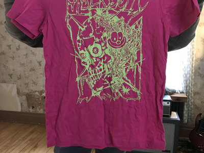 Bill Connors shirt (lime green on pink-limited run) main photo
