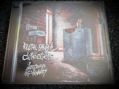 3 way split album with Rectal Smegma, Cliteater, Last days of humanity main photo