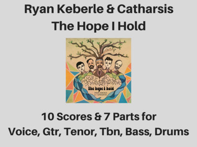 Ryan Keberle & Catharsis | The Hope I Hold | 10 Scores & 7 Parts (PDF) main photo