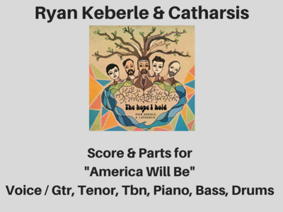 Ryan Keberle & Catharsis | America Will Be | Score & Parts (PDF) main photo