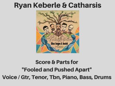 Ryan Keberle & Catharsis | Fooled and Pushed Apart | Score & Parts (PDF) main photo