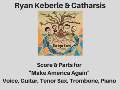 Ryan Keberle & Catharsis | Make America Again | Score & Parts (PDF) main photo