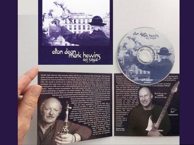 ELTON DEAN & MARK HEWINS - Bar Torque (CD) main photo