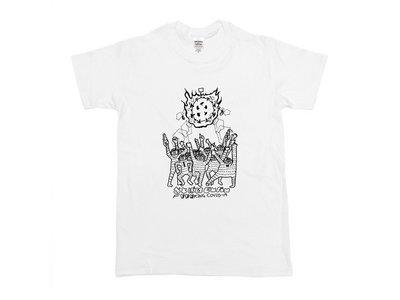 "Otoboke Beaver ""F***king COVID-19"" T-shirt main photo"
