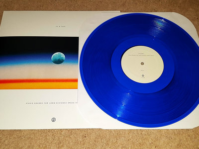 SIGNED COPY of Stasis Sounds For Long-Distance Space Travel (Blue Vinyl) main photo