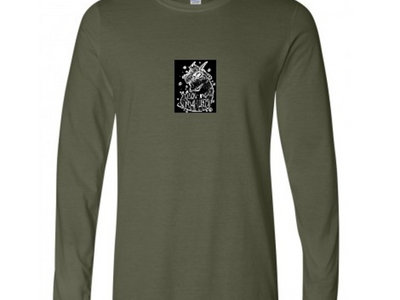(PRE-ORDER) LNL HAND-SEWN GOAT PATCH MILITARY GREEN LONG SLEEVE ! main photo
