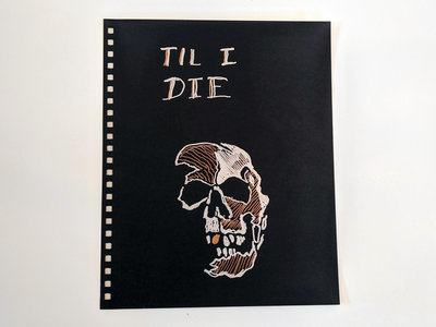 Til I Die Lyric Notebook - Cover Page main photo