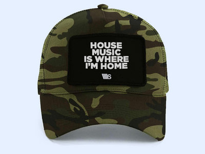 Camouflage Cap with tear away label main photo