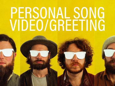 Private video of a song and personalized greeting main photo