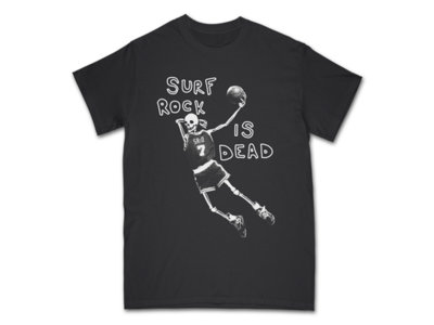 "Surf Rock is Dead - ""Existential Playboy"" Dunking Skeleton Tee-Shirt (Black) main photo"