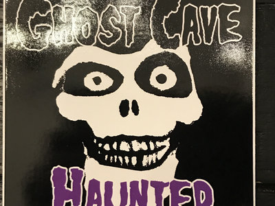 """Ghost Cave """"Haunted"""" 4-inch sticker main photo"""