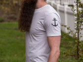 Classic anchor sleeve shirt, handmade by Antonio photo