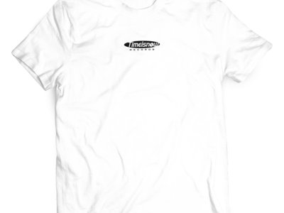 'Time Is Now' Crew T-Shirt - White main photo