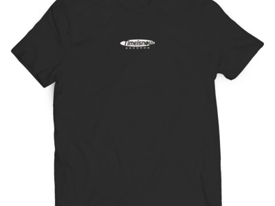 'Time Is Now' Crew T-Shirt - Black main photo