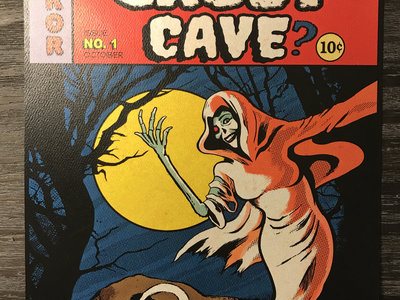 Ghost Cave Comics Print (Tim Aymar) (limited to 100) main photo