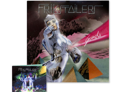 "Frikstailers - Guacha 12"" EP+ En Son de Paz CD main photo"