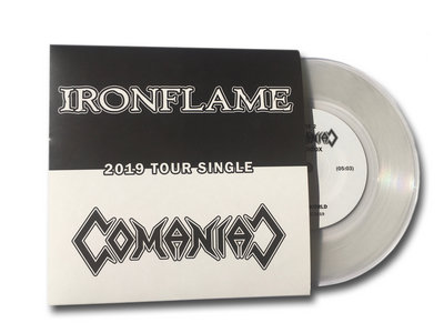 Split-7inch Tour Single - Ironflame / Comaniac - 2019 main photo