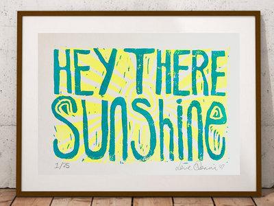 *NEW* 'Hey There Sunshine' Lino Print main photo