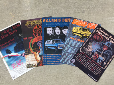 Tour Poster Bundle!  All 5 Posters! main photo