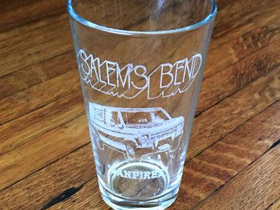 Custom Etched Pint Glass- Vanpires! main photo
