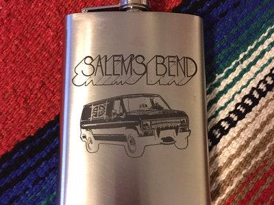 Custom Etched Flask- Vanpires! main photo