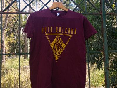 """""""Volcano"""" T-shirt (Burgundy) main photo"""