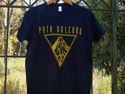 """""""Volcano"""" T-shirt (Navy Blue) main photo"""