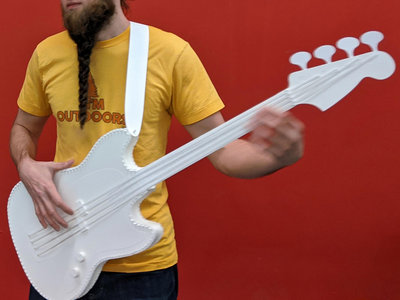 Paper electric bass main photo