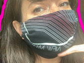 NEW MYTHS GRADIENT FACE MASK photo