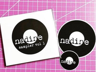 Nadine Records Sticker main photo