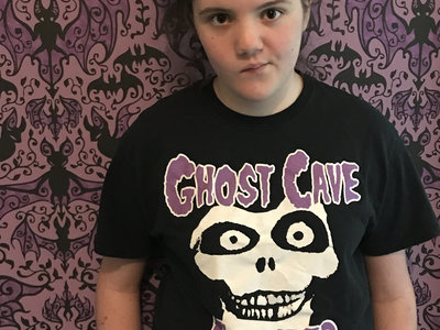 "Ghost Cave ""Haunted"" T Shirt- (Misfits/Haunted Mansion mashup) main photo"