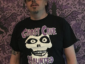 "Ghost Cave ""Haunted"" T Shirt- (Misfits/Haunted Mansion mashup) photo"