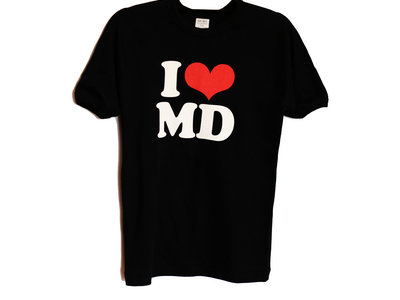 'I Love MD' t shirt WOMENS / YOUTH (rare) main photo