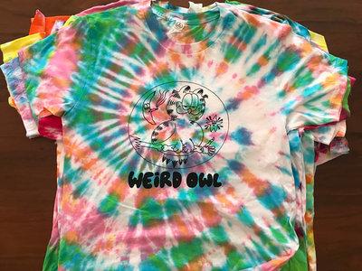 Tie Dye Garfowld T-shirt main photo