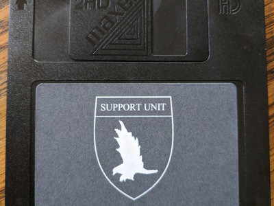 Limited Edition Floppy Disc - Support Unit main photo